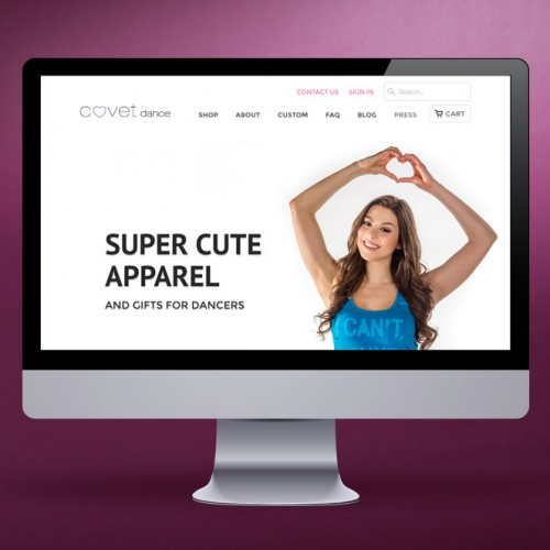 Covet Dance Website