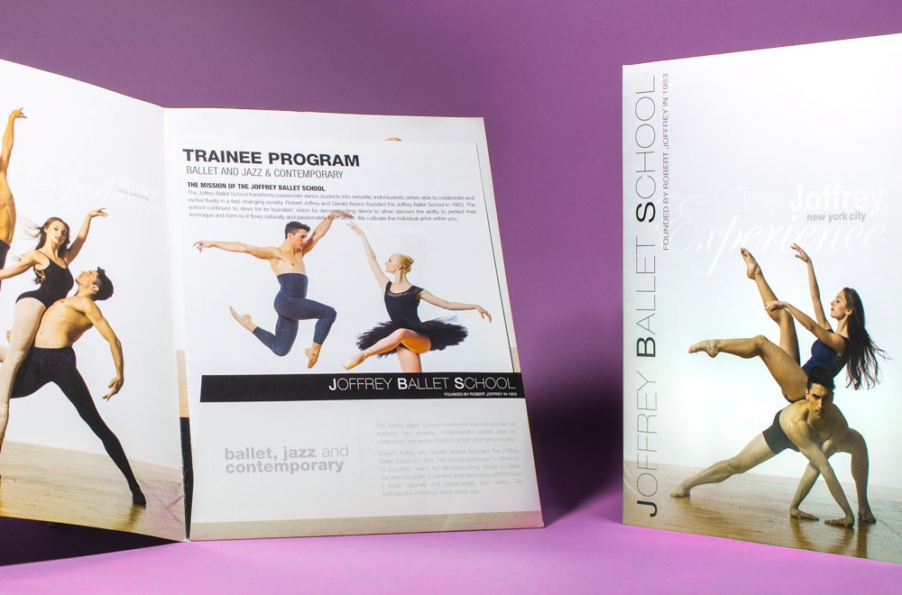 Joffrey Ballet School Pocket Folder