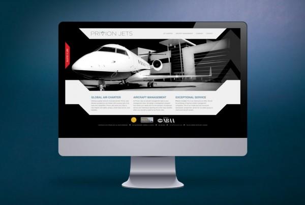Privion Jets Website