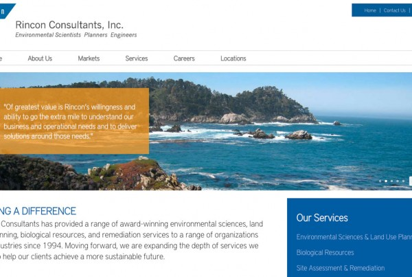 Rincon Consultants Website