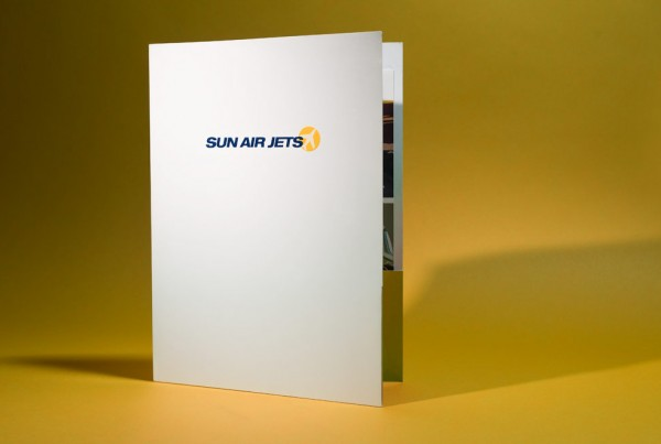 Sun Air Jets Pocketfolder