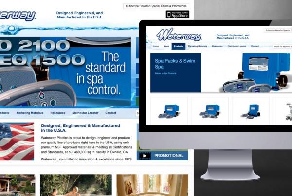 Waterway Plastics Website